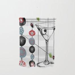 Mid-Century Modern Art Atomic Cocktail 3.0 Wall Hanging