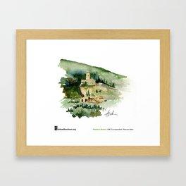 """Matthew Brehm, """"Rocca Minore, Assisi"""" Framed Art Print"""