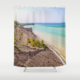 Along the Coast Shower Curtain