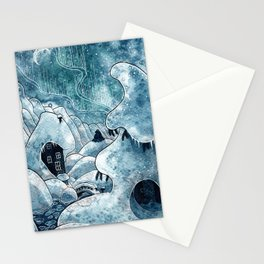 Winter in The Moomin Valley Stationery Cards