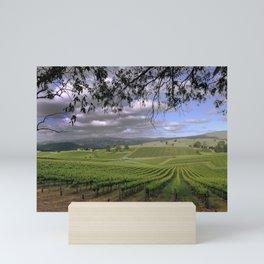 Stormy Day in the Vineyard Mini Art Print