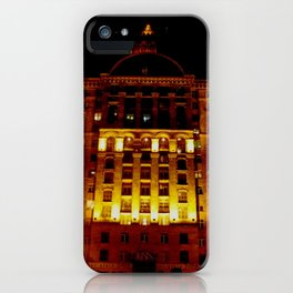 Night Crest 1 iPhone Case