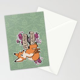 please leave Stationery Cards