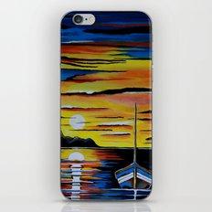 Escape To The Sea iPhone & iPod Skin