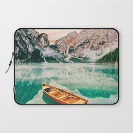 Boats on the lake Laptop Sleeve
