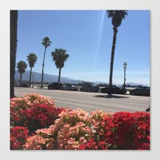 Santa Barbara Brunch Canvas Print