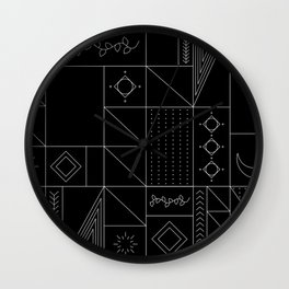 Magic Forest Rooms Wall Clock