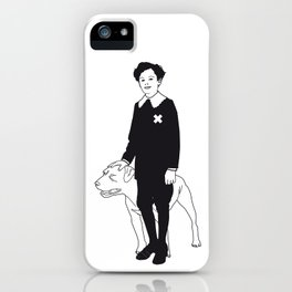 Dog Dick Web Site iPhone Case