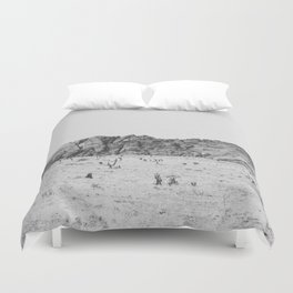 RED ROCK CANYON / Nevada Duvet Cover