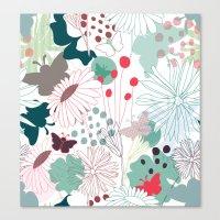 wonderland Canvas Prints featuring Wonderland by Demi Goutte