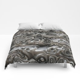 Abstract Warped 3D Surface Comforters
