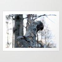 the hound Art Prints featuring HOUND by smmrkllr