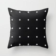 Crosses Throw Pillow