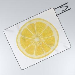 Lemon Picnic Blanket