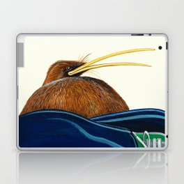 Kiwi on Sammy's lap Laptop & iPad Skin
