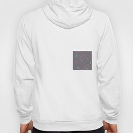 Map land color pattern Hoody