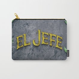 EL JEFE Carry-All Pouch