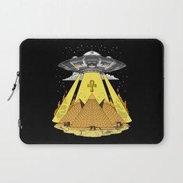 Alien Abduction Egyptian Pyramids Anunnaki UFO Laptop Sleeve