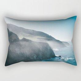 Sea Mist on the Big Sur Rectangular Pillow