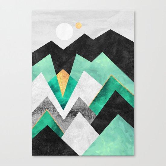 Distant Planet V2 Canvas Print