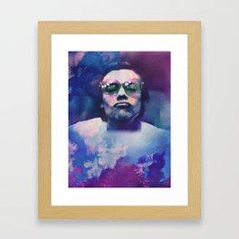KISSY Framed Art Print