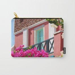 Lovely Santorini Carry-All Pouch