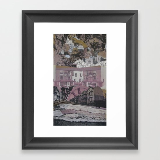 Waterworks Framed Art Print