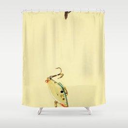 Fishhook Shower Curtain