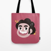 steven universe Tote Bags featuring Steven  by HypersVE