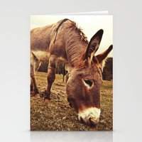donkey Stationery Cards featuring Donkey by Vic Torys