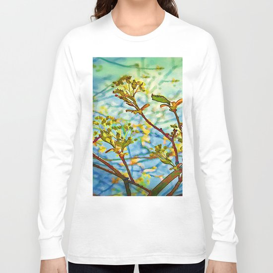 Budding Branches Long Sleeve T-shirt
