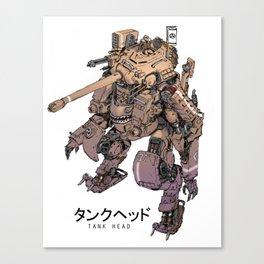 TankHead Canvas Print