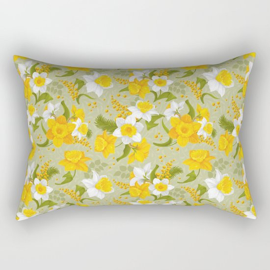 Spring in the air #14 Rectangular Pillow