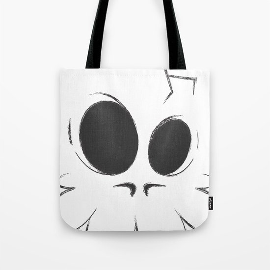 Cracked Skull Tote Bag