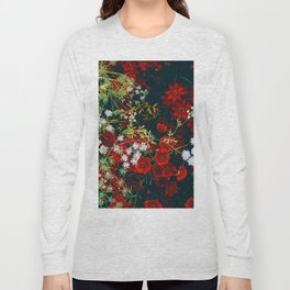 The Flower Bed (Color) Long Sleeve T-shirt