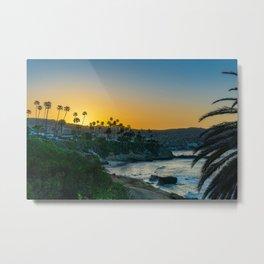 Spring Sunrise Over Laguna Beach Metal Print