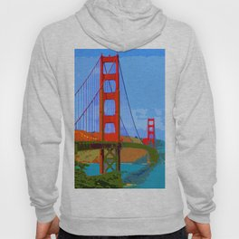 Golden Gate Bridge 009 Hoody