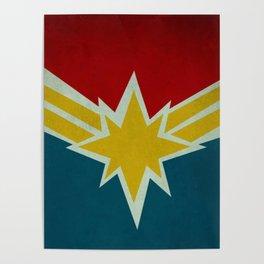 Modern CaptainMarvel Poster