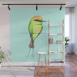 Green bee eater Wall Mural