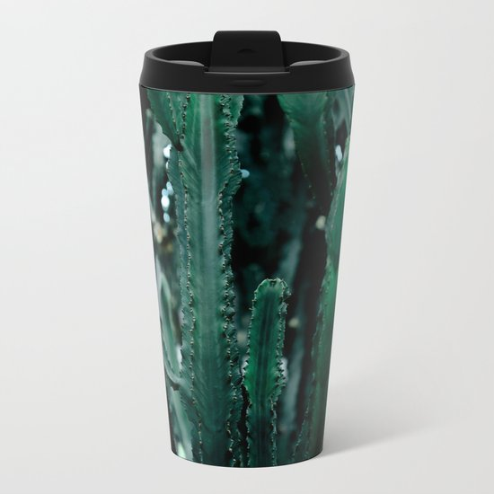 Cactus 07 Metal Travel Mug