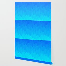 Electric Blue Ombre flames / Light Blue to Dark Blue Wallpaper