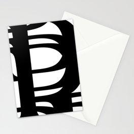 Hidden Letters. Baskerville P Stationery Cards