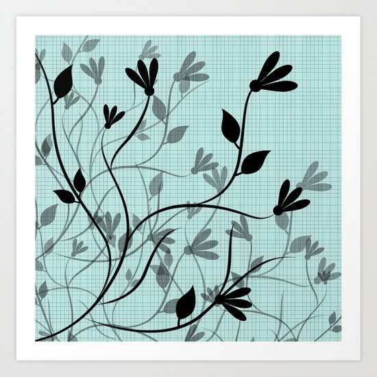 Gentle Breeze Art Print