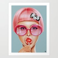 hot Art Prints featuring Cool Redux by Giulio Rossi
