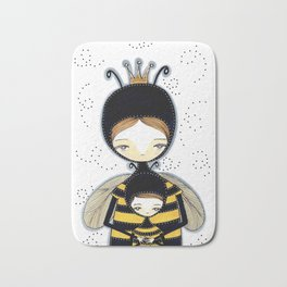 Queen Bee Motherhood Bath Mat