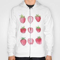 strawberry doodles Hoody