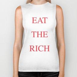 Eat The Rich Biker Tank