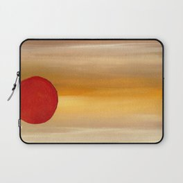 Acrylic Abstract Painting Sunny Day Laptop Sleeve