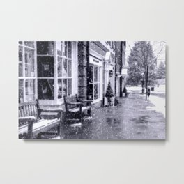 Moody days of winter Metal Print