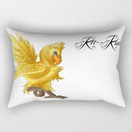 Chocobo Ka-Kweh! Rectangular Pillow